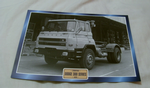 Dodge 300 Series 1978 classic truck framed picture